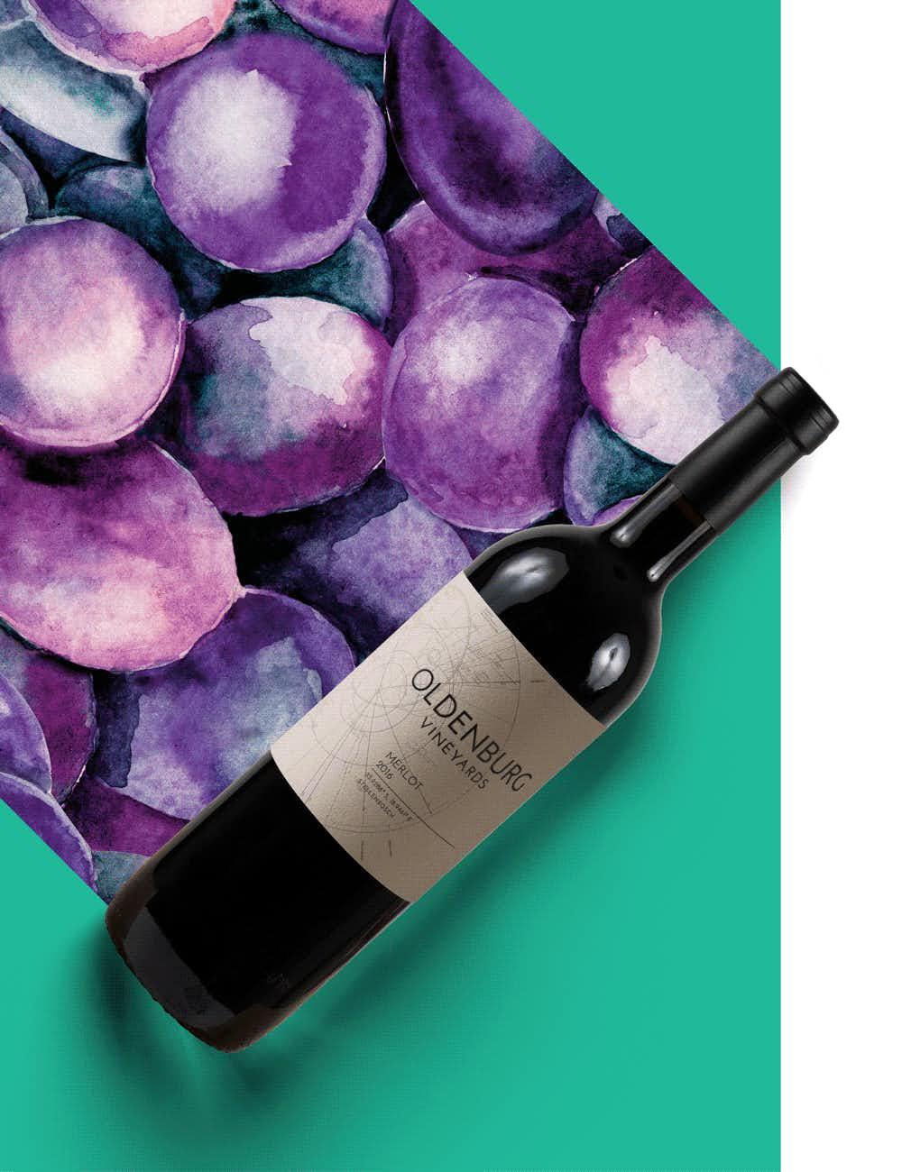 Oldenburg Vineyards Merlot 2016