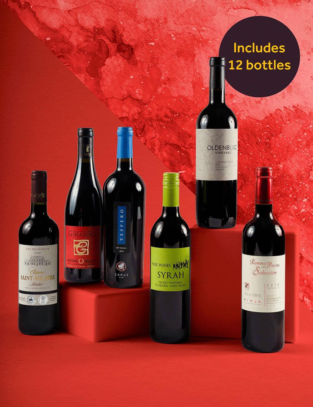 Wine& big reds
