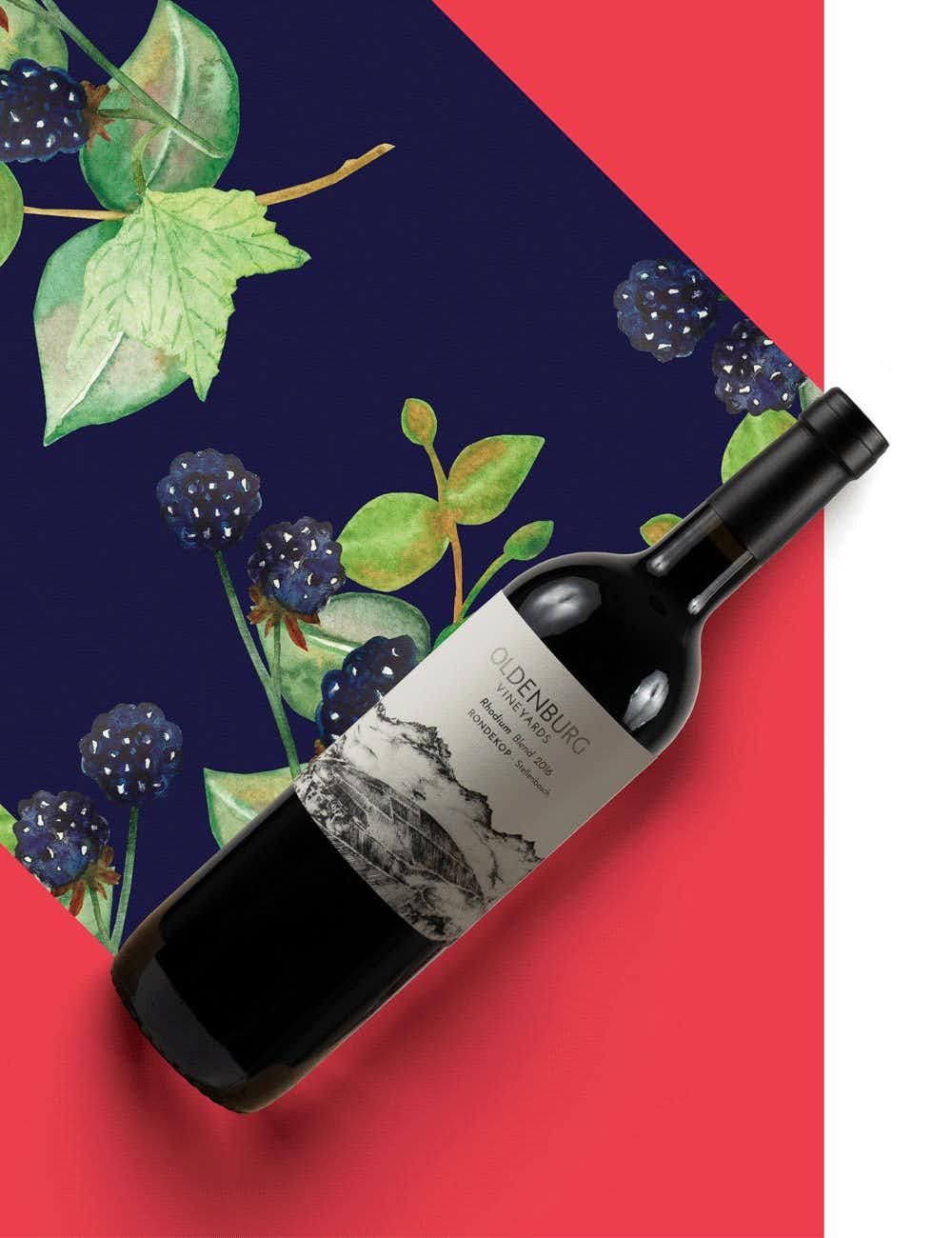 """Oldenburg Vineyards Rondekop """"Rhodium"""" 2016"""