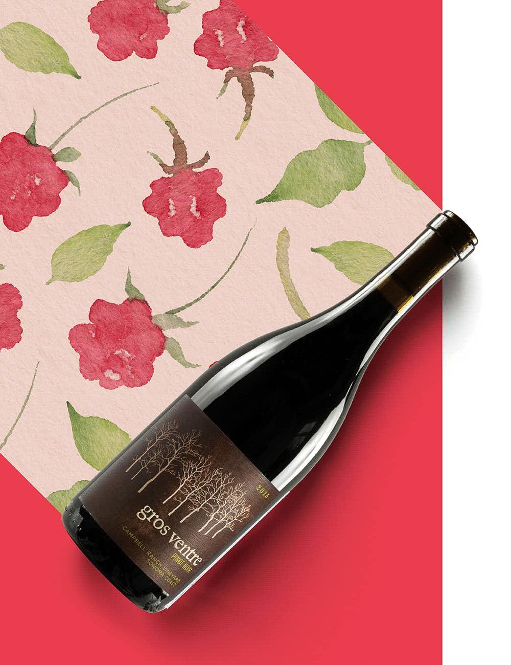 Gros Ventre Campbell Ranch Pinot Noir 2015