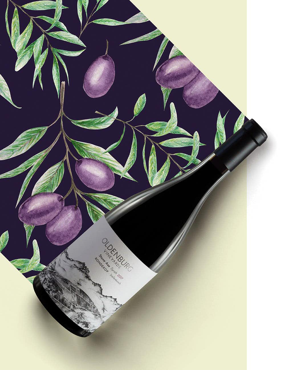 "Oldenburg Vineyards Rondekop ""Stone Axe"" Syrah 2017"