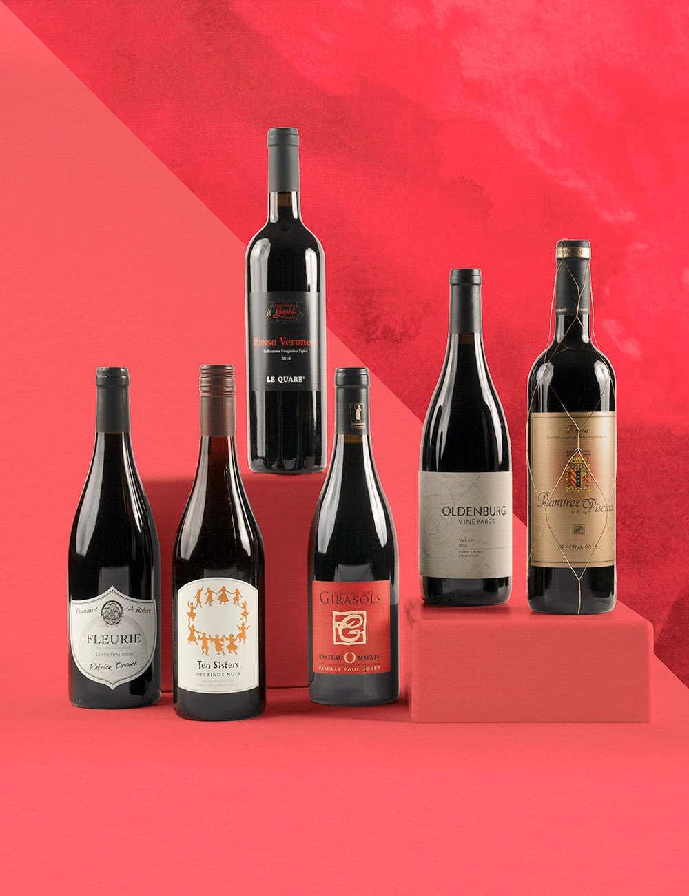 Wine& royal reds