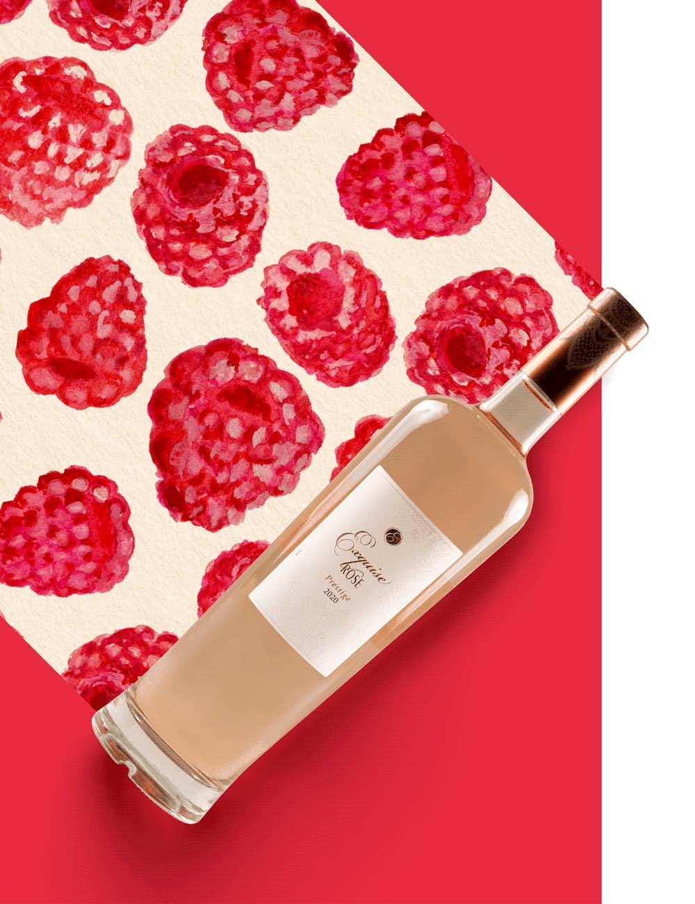 Les Vignobles Foncalieu Exquise Rosé 2020
