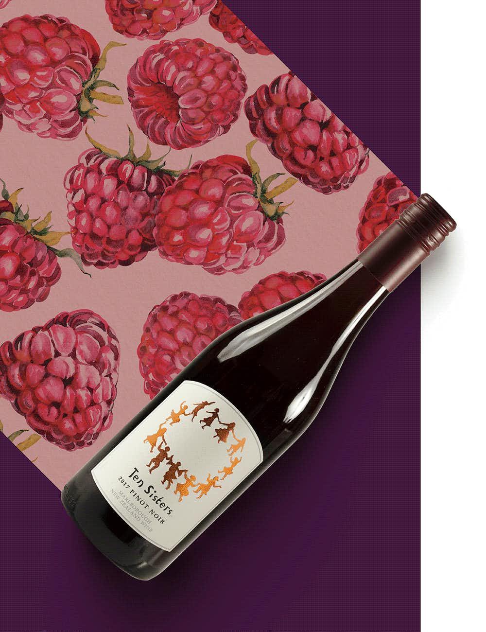 Ten Sisters Pinot Noir 2017