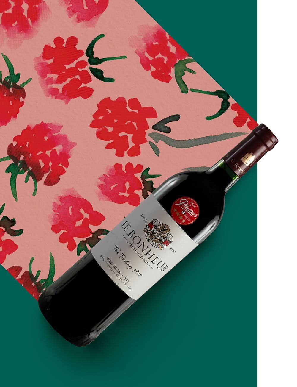 Le Bonheur The Trading Post Bordeaux Blend 2018
