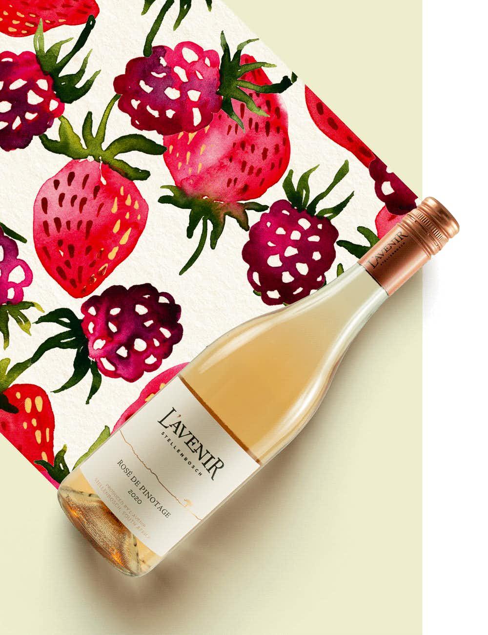 L'Avenir Estate Horizon Rosé de Pinotage 2020