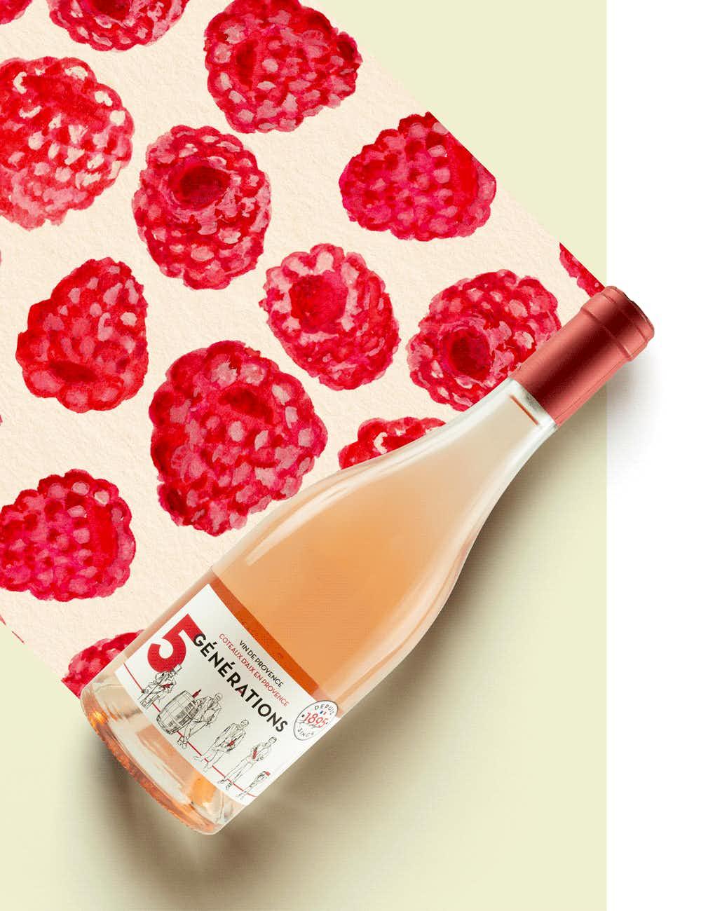 Les Vins Margnat 5 Générations Rosé 2020