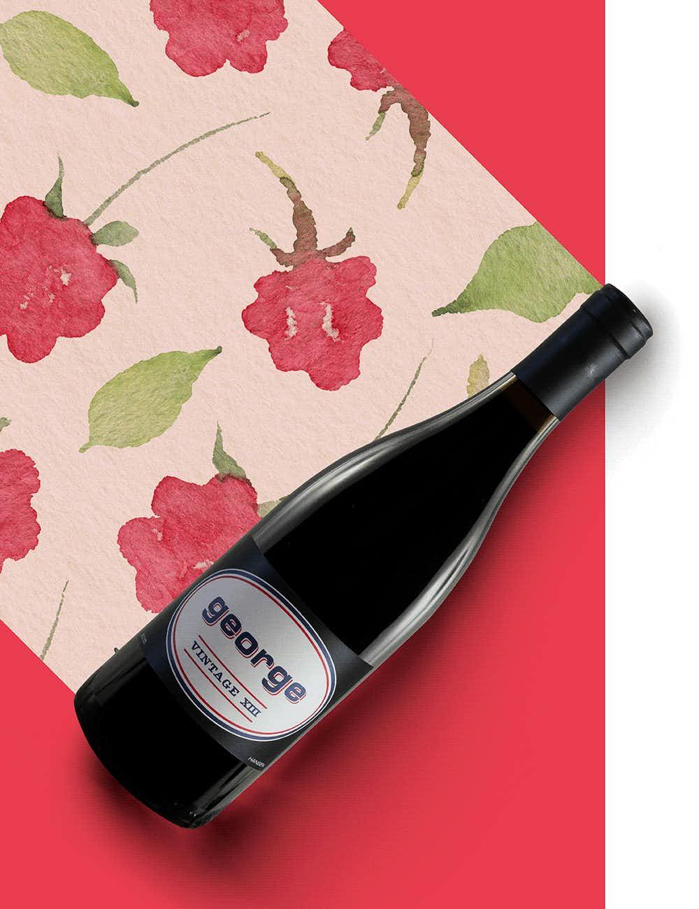 George Wine Company Hansen Vineyard Pinot Noir 2015