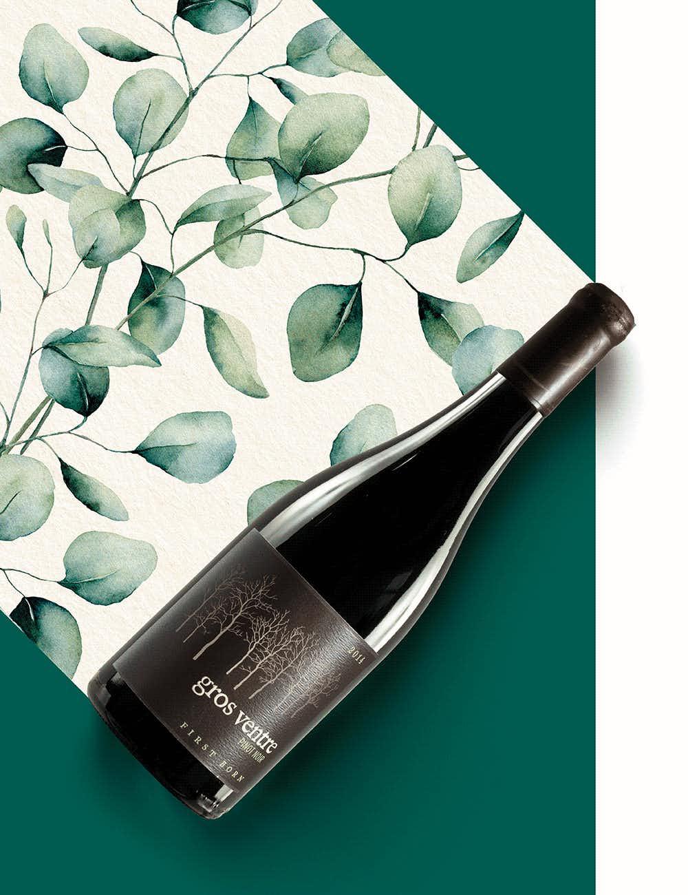 Gros Ventre First Born Pinot Noir 2014