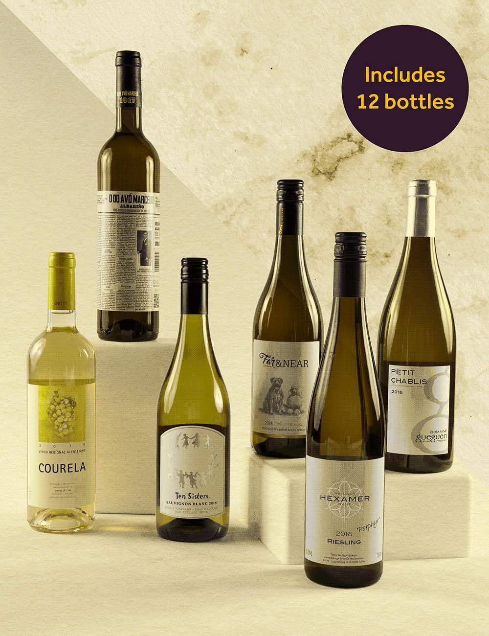 Wine& all white
