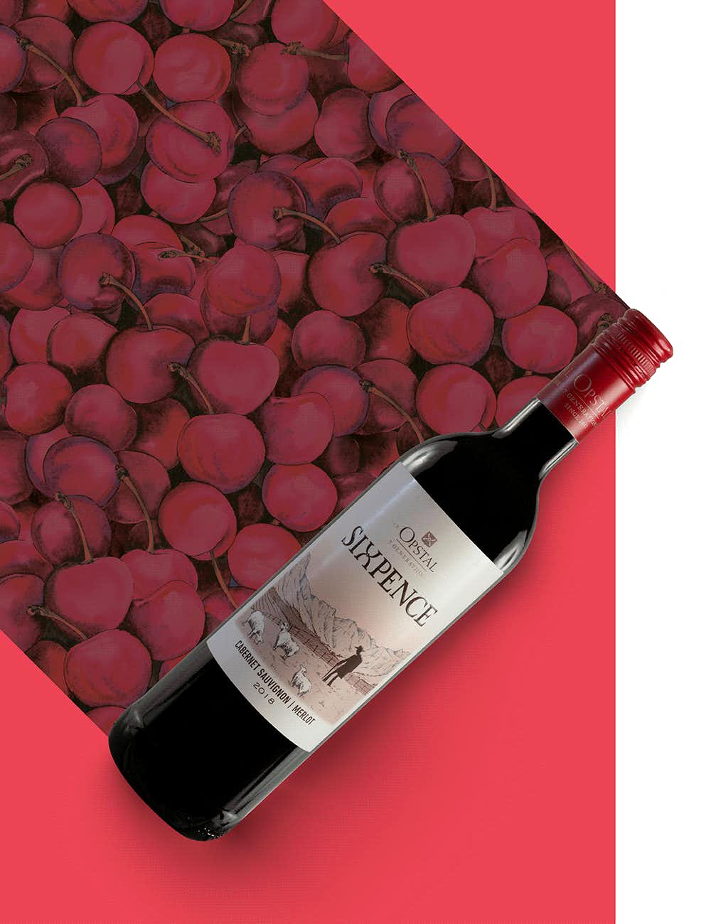 Opstal Estate Sixpence Red 2018